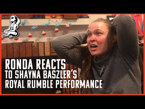 Ronda Reacts To Shayna Baszler's 2020 Royal Rumble Run