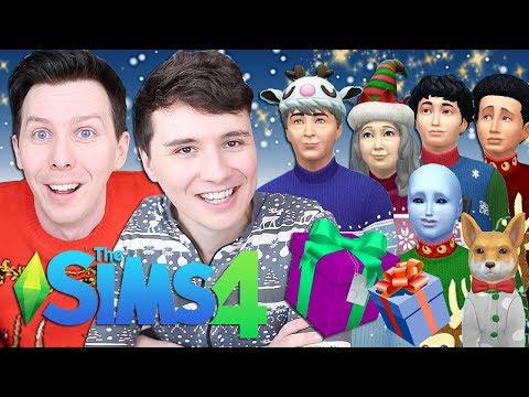 DIL'S FAMILY WINTERFEST - Dan And Phil Play: Sims 4 #63