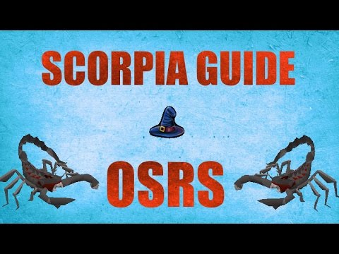 Scorpia Solo Guide 2007 + 100 Loots Old school Runescape (OSRS)