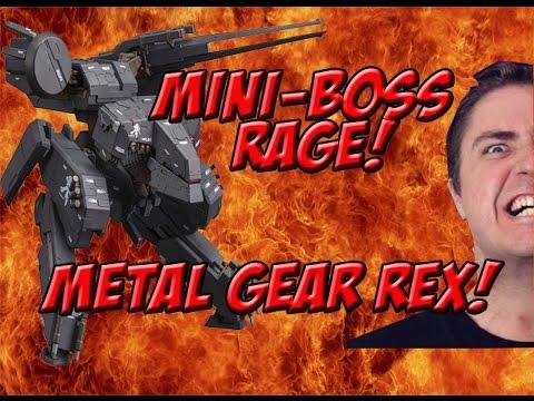 Mini-Boss Rage Metal Gear Rex: MGS Part 18 - Yogames
