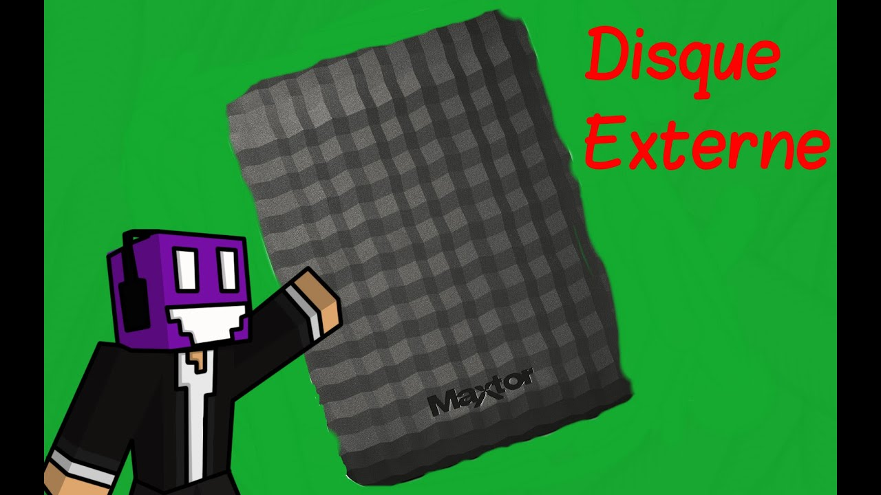 unboxing disque dur externe maxtor youtube. Black Bedroom Furniture Sets. Home Design Ideas
