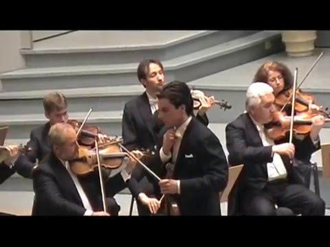 "Daniel Röhn - Mozart Violin Concerto No. 5 in A ""Turkish"" (part 2 of 3)"