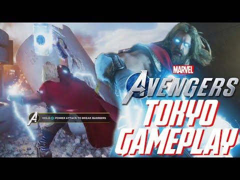 Marvel's Avengers: NEW Tokyo Game Show Gameplay!!! IMPROVED HUD, RPG Elements, & More!!!