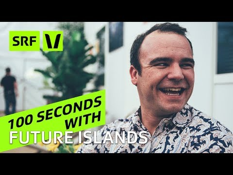 Future Islands: 100 Seconds with Samuel T. Herring