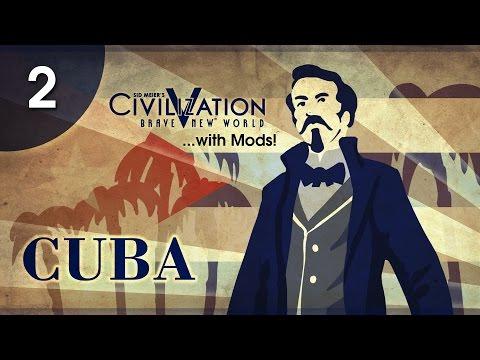 Let's Play Civ 5/BE (Mods) - Cuba/Caribbean Axis - Episode 1.02