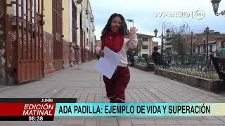 Junín: Ada Padilla es un ejemplo de superación en el campo laboral y artístico