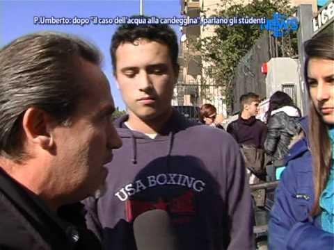 Istituto Principe Umberto: Il Caso Dell'acqua Alla Candeggina