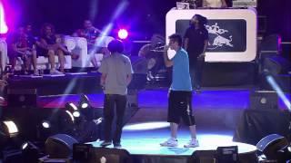 Chuty vs Kensuke - Cuartos - Final Nacional - Red Bull Batalla de los Gallos 2013 (Oficial)