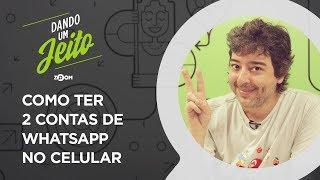 Como Usar Duas Contas do WhatsApp no Mesmo Celular | DANDO UM JEITO