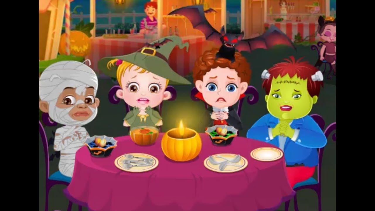 baby hazel halloween night baby hazel games to play yourchannelkids - Halloween Baby Games