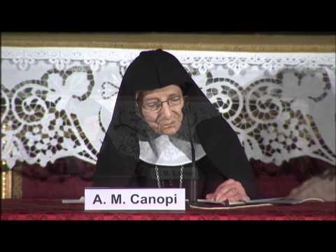 14 03 21 Madre Anna Maria Canopi, registrazione professionale