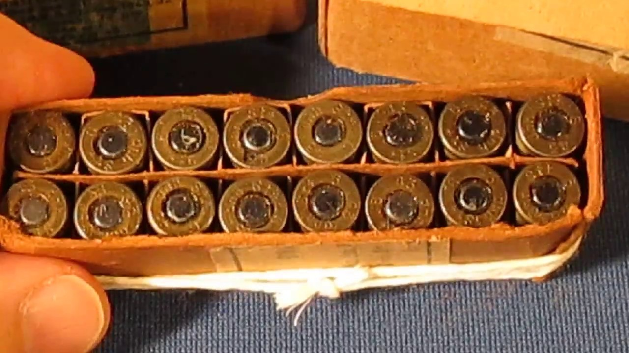 Collecting WWII Nazi 9mm German Luger Ammo