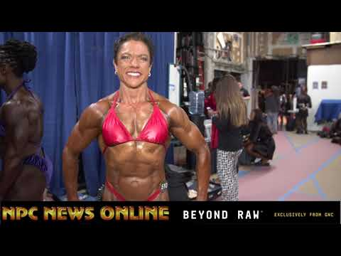 2018 NPC Nationals Women's Bodybuilding Backstage Video Part.1