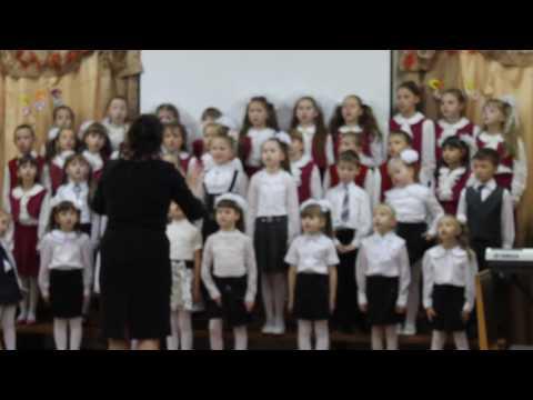 Песня о волшебниках муз  Г Гладкова, сл  В  Лугового  исполняет хор первоклассников