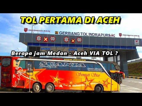 Jarak Tempuh Medan Aceh Kini Jauh Lebih Singkat Dengan Adanya Jalan Tol Di Aceh Youtube