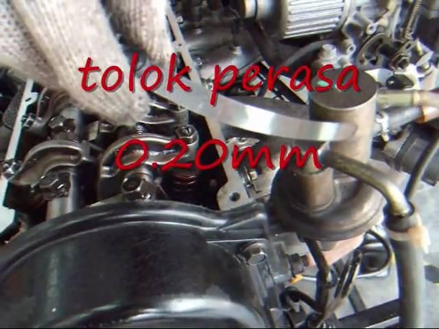 UPSI TEKNIKAL-melaras tapet [rocker arm adjusting] wmv