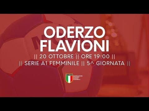 Serie A1F [5^]: Oderzo - Flavioni 25-15