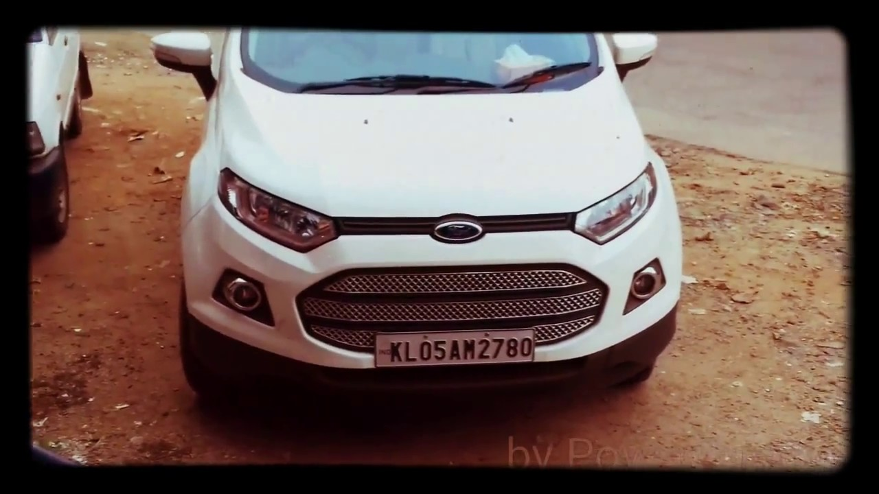 Cars Ford Eco Sport Chrome Front Grill