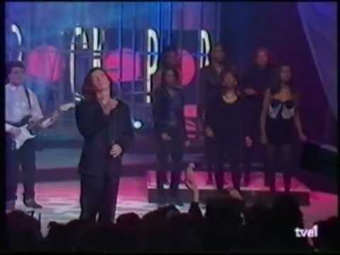 "Rick Astley ""Cry for help""  (ROCKOPOP  TVE1)  1991"