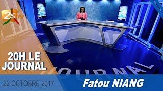 JOURNAL FRANÇAIS DU 22 OCTOBRE 2017 AVEC FATOU NIANG - 2STV thumbnail