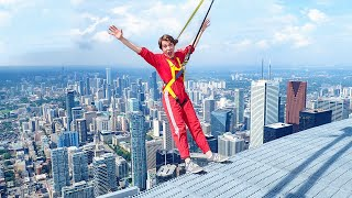 Walking Off America's Tallest Building!! *CRAZY CHALLENGE*