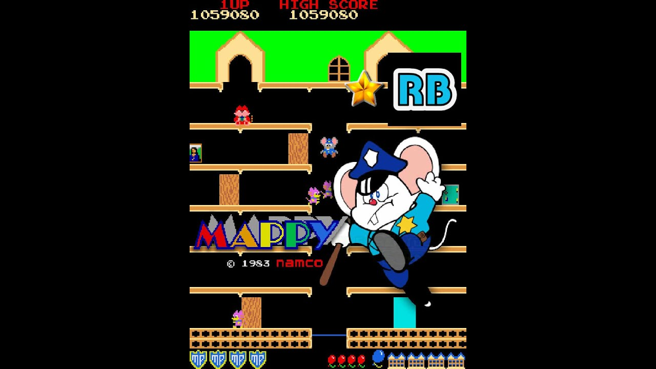 Download 1983 [60fps] Mappy 1075810pts Nomiss Round50