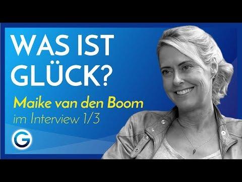 3 praktische Tipps für mehr Glück //  Maike van den Boom im Interview 1/3