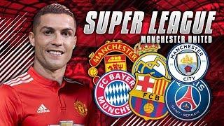 KAN VI KÖPA CRISTIANO RONALDO!? SUPER LEAGUE   MANCHESTER UNITED KARRIÄRLÄGE #1 - FIFA 18 PÅ SVENSKA