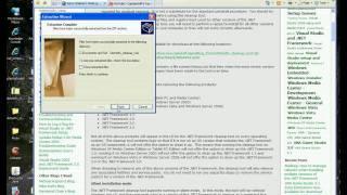 comment réparer net framework