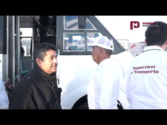 #SET #PueblaNoticias Verifica SMT modernización de unidades