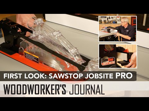 First Look: SawStop Jobsite PRO Table Saw