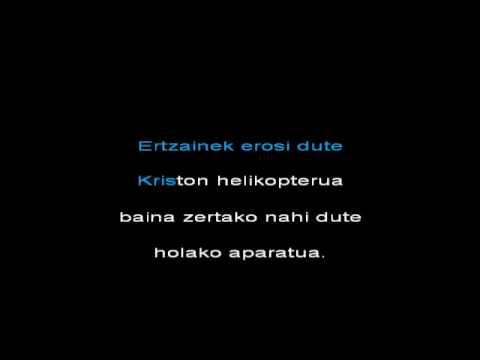 nor nori nork  gozategi - karaoke