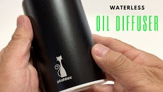 Waterless Aromatherapy Essential Oil Diffuser - PtahTex - Battery Operated.