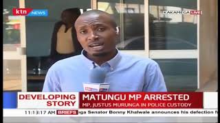 Developing: Matungu MP arrested and being held at Kakamega Police station