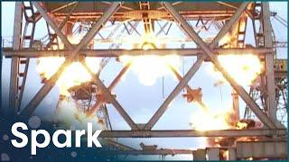 Destorying A Crane With Explosives | Demolition Squad | Spark