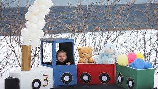 Alexavier turn's 3! (Train themed Party for little boys)