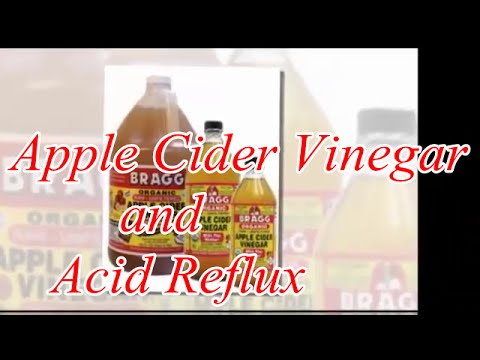 How to Treat Acid Reflux Naturally : Apple Cider Vinegar