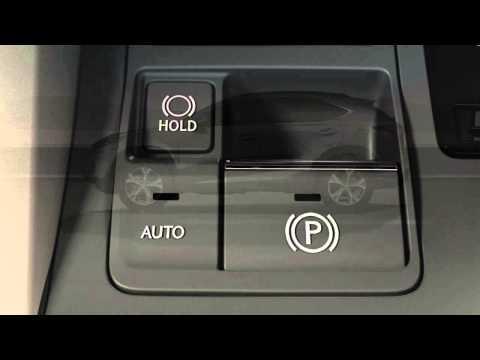 NX Electric Parking Brake and Brake Hold