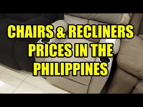 Chairs & Recliners, Prices In The Philippines.