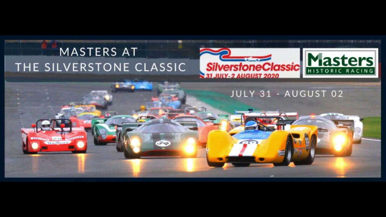 Race Historic Cars Uk Europe Usa Masters 2020 Tour Schedule Youtube