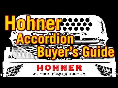 Hohner Accordion Buyer's Guide: Panther vs Corona vs Anacleto
