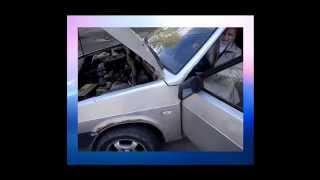 Наши девушки могут всё - даже ездить на таких машинах - жесть!!   приколы авто 2014