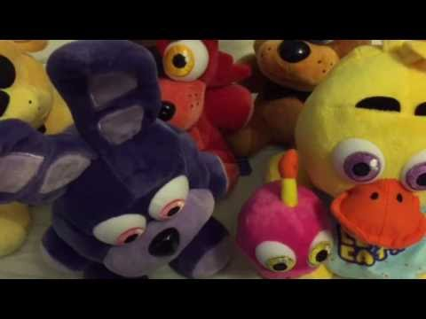 Unboxing ALL of the Sanshee FNaF plushies!!