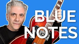How To Use BLUE Notes and Other CHROMATICS