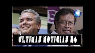 Duque se mantiene y Petro baja en intención de voto: Encuesta CNC