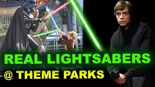 Star Wars Land Lightsaber Patent - Disneyland & Disney World