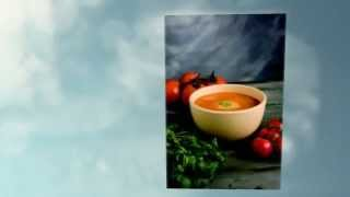 Chilled Tomato Soup With Garlic - Gestational Diabetes Recipe