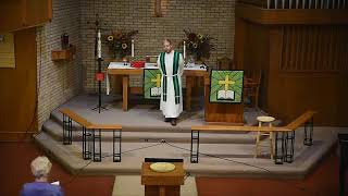 Sunday, October 4, 2020 - Traditional Worship - The 18th Sunday after Pentecost