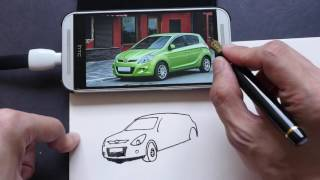How I Sketch Cars from Observation in Simple Pen & Ink Style (tutorial)