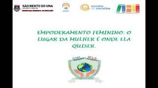 Empoderamento feminino - Professora Marcelle Braga